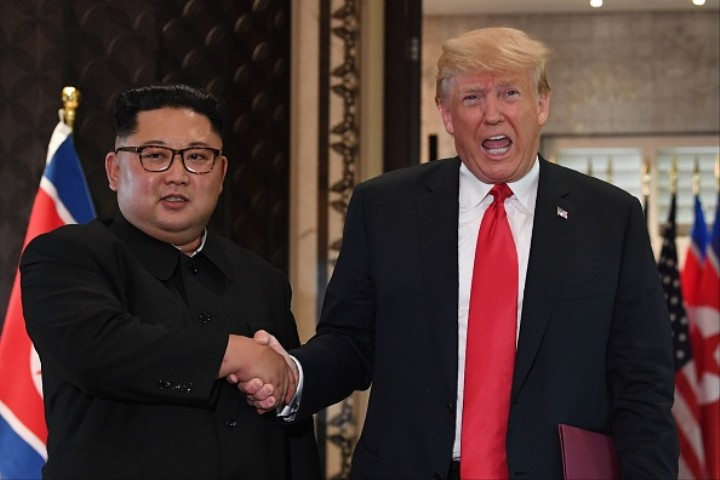 Trump Says He and Kim Jong Un 'Fell in Love'