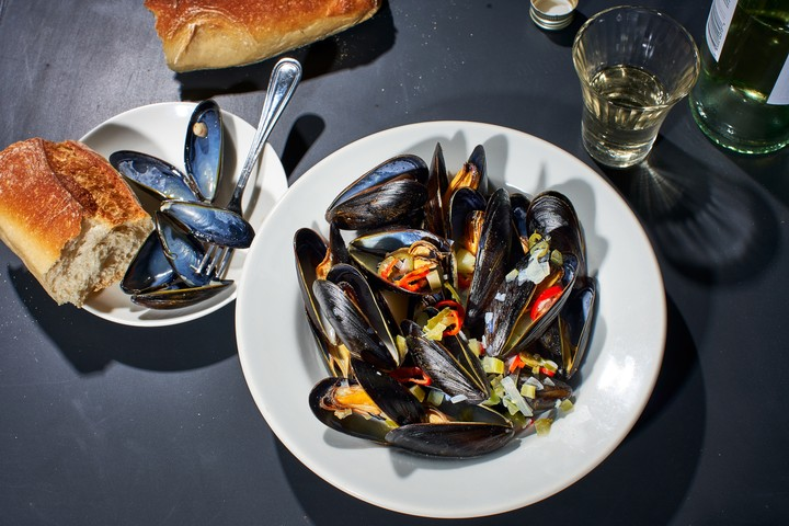 Easy Steamed Mussels Recipe