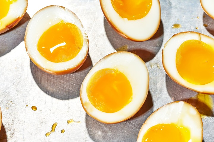 Soy-Cured Eggs Recipe