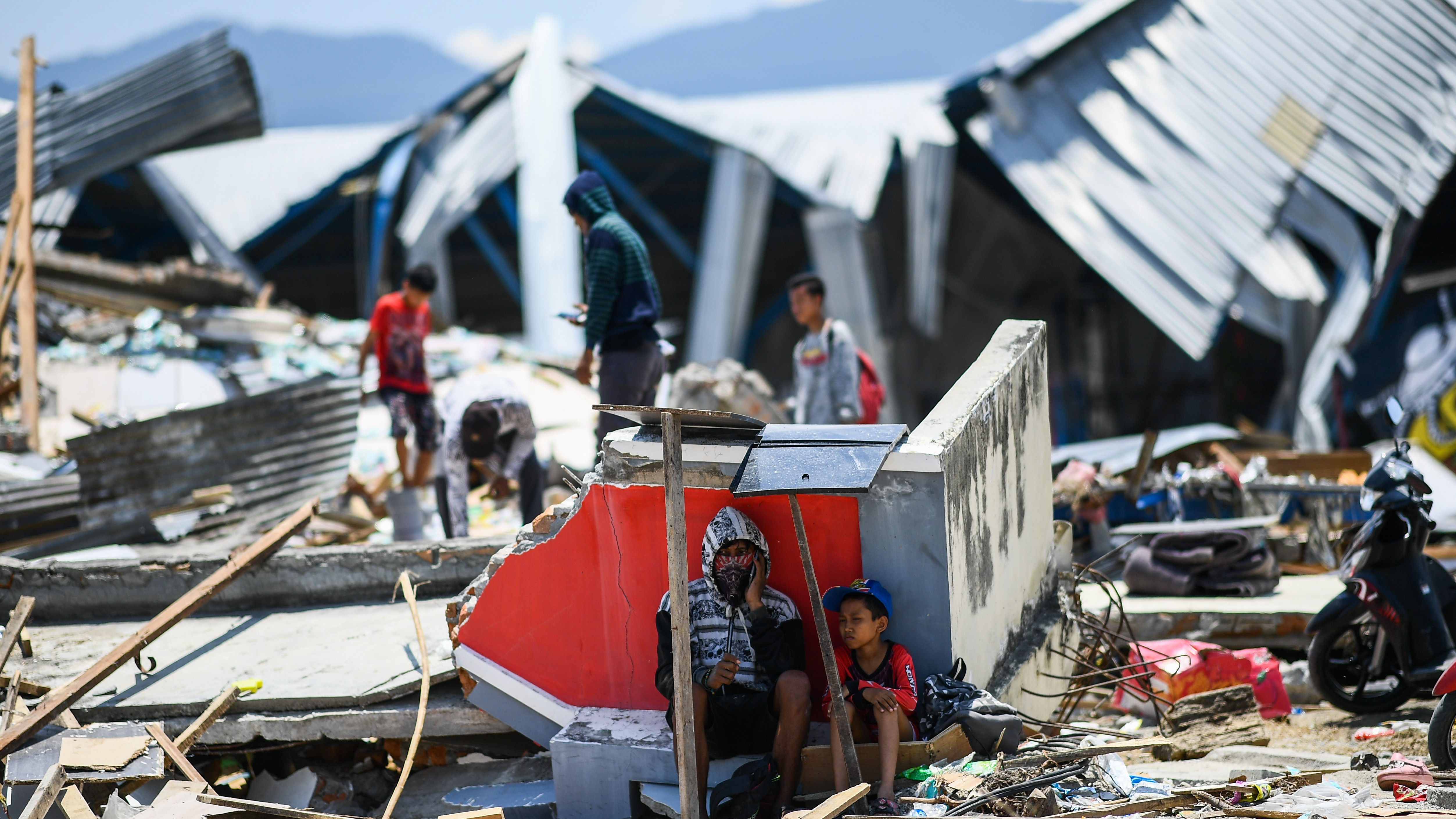 Indonesia is caught in a trifecta of natural disasters