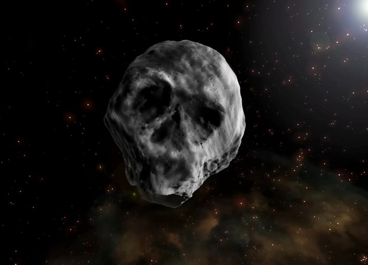 Please Let the Giant Skull Asteroid End Us All