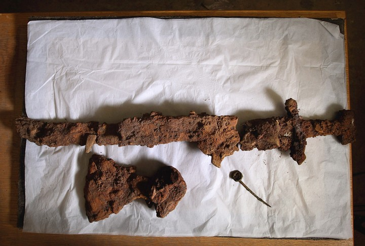 Long May She Reign: 8-Year-Old Girl Pulls Pre-Viking Sword from Lake