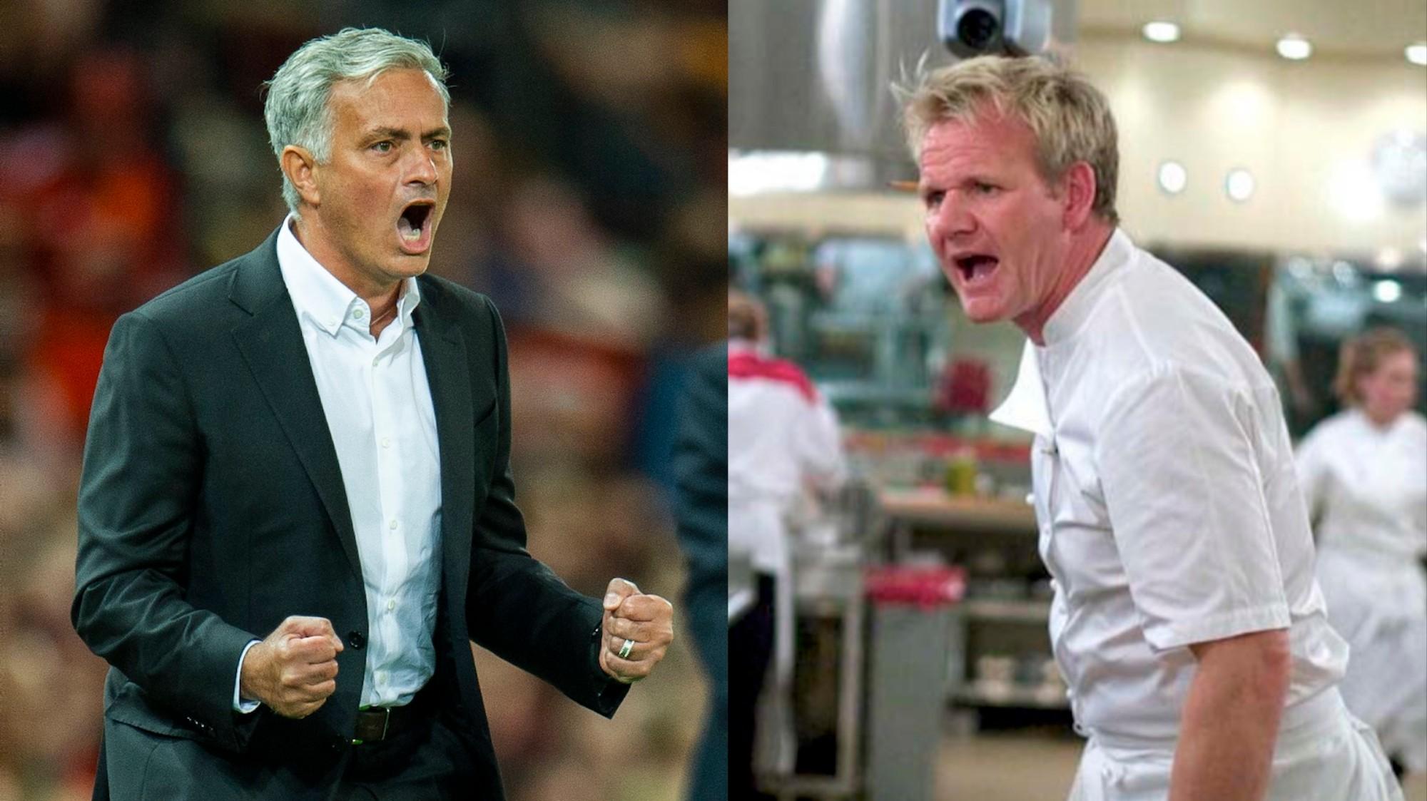 This Gordon Ramsay-Jose Mourinho Meme is Perfect - VICE
