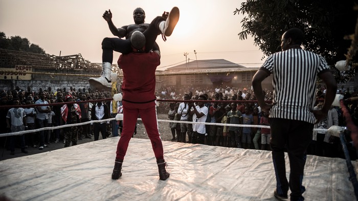 """Voodoo wrestling"" is a real thing and it's empowering women in the Congo"