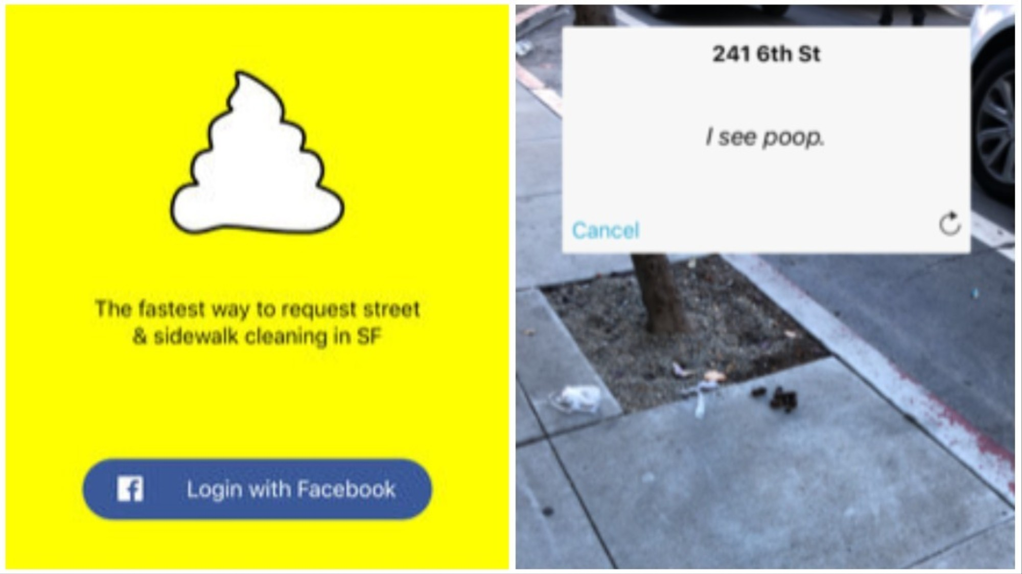 You Can Now Use Snapcrap To Report Piles Of Literal Shit On Sf S