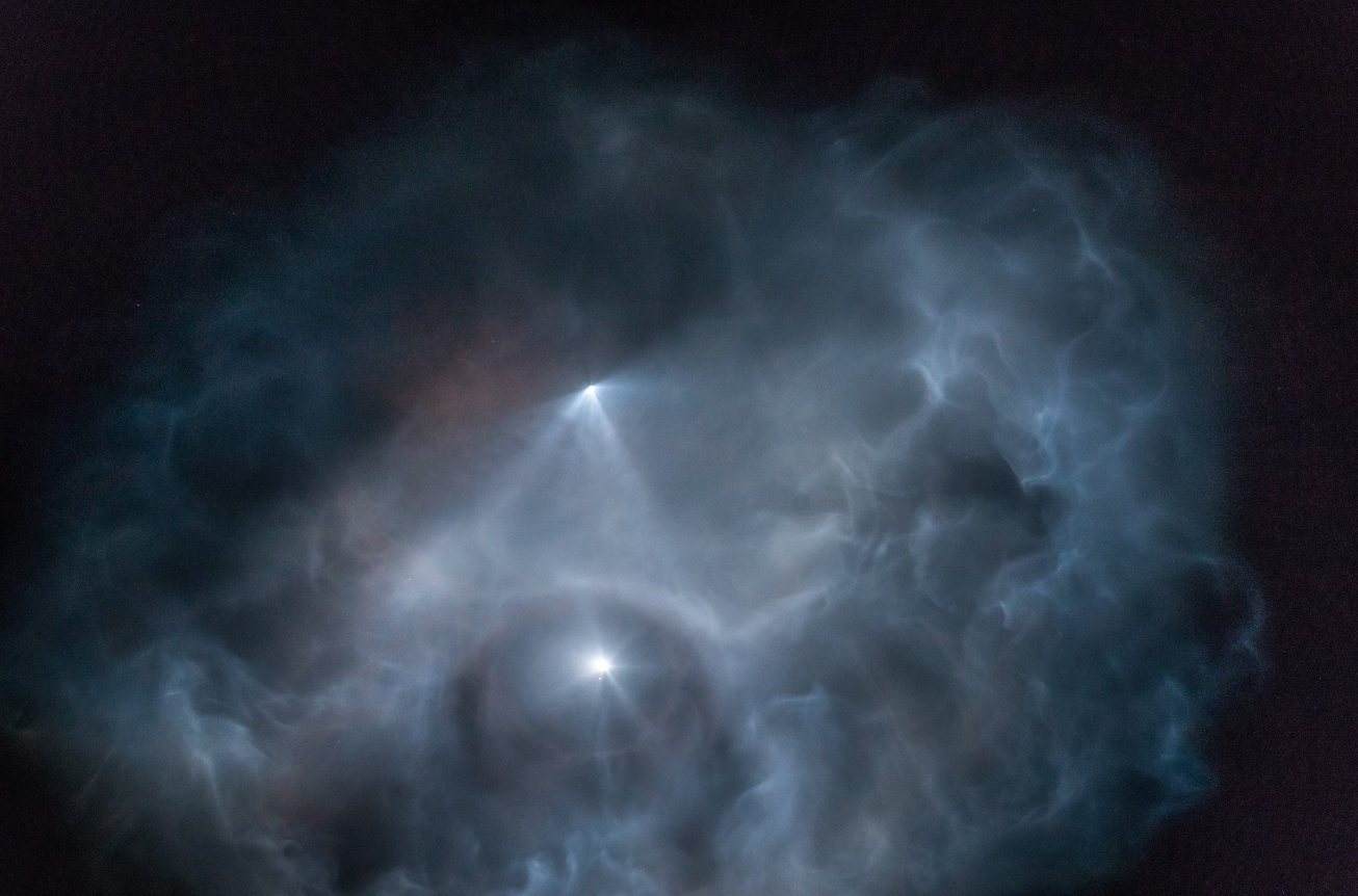 Why Do SpaceX Rocket Launches Look Like UFOs?