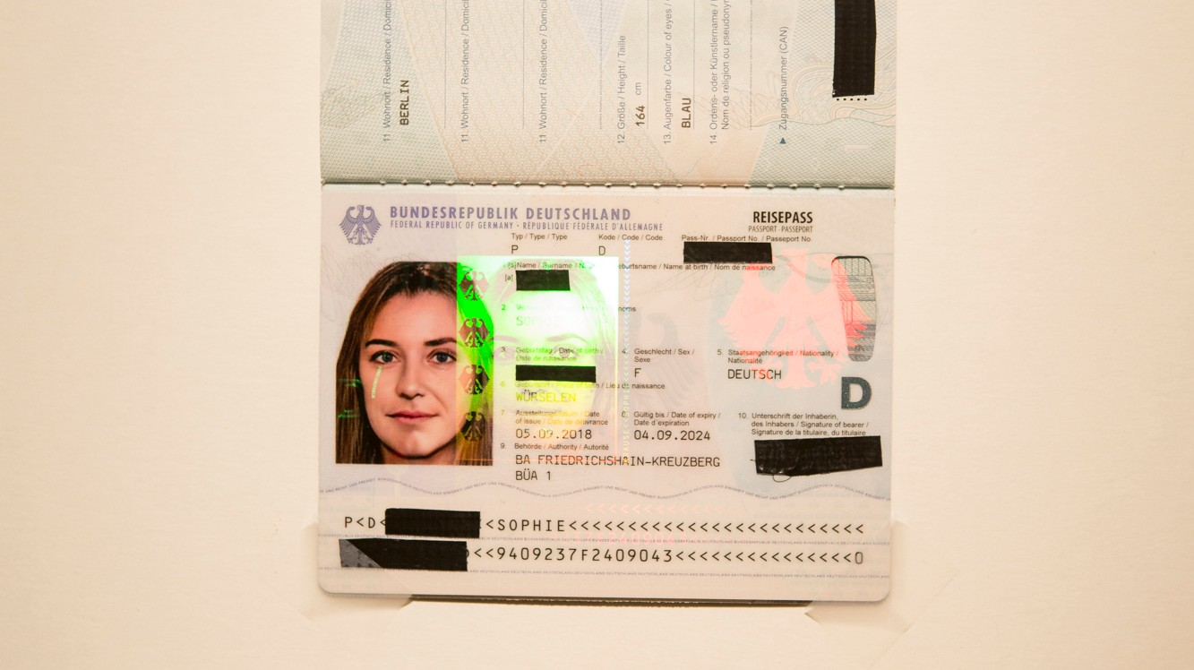 German Art Activists Get Passport Using Digitally Altered Photo of Two Women Merged Together