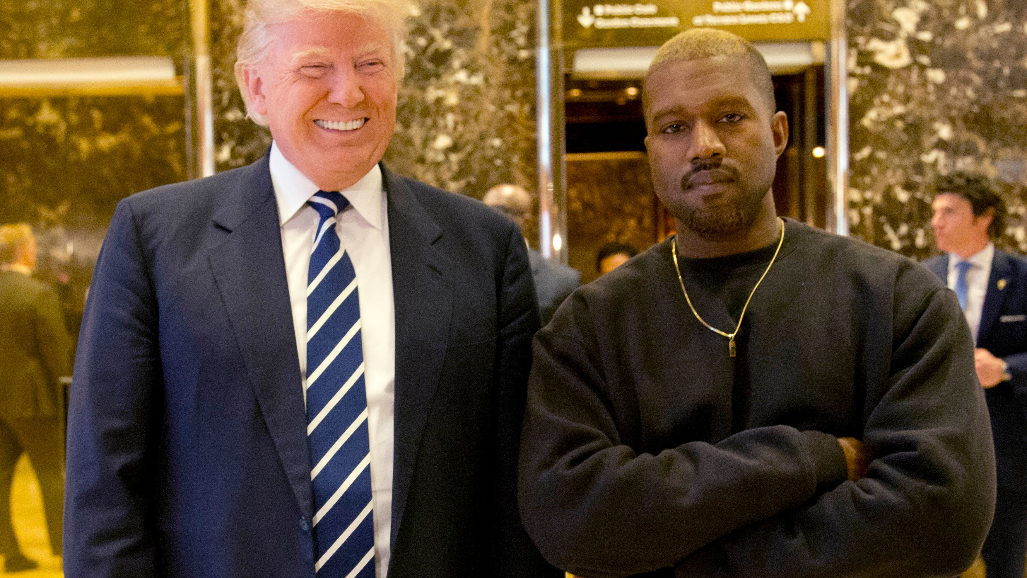 The Kanye-Kid Rock collaboration you never wanted has arrived — at the White House