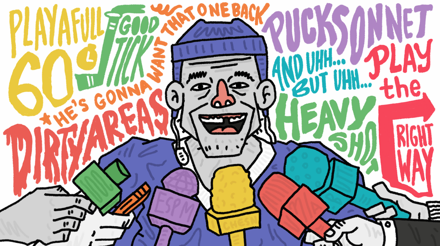 Cliches Are Talking Among Themselves >> A Guide To Understanding All The Cliches You Ll Hear This Nhl Season