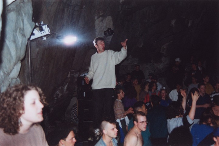 The Legendary 'Cave Raves' of the Acid House Era