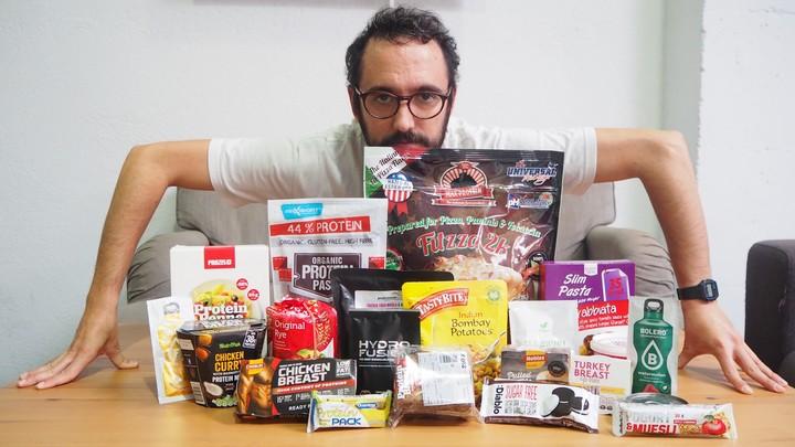 Pasé una semana comiendo únicamente productos 'fit'
