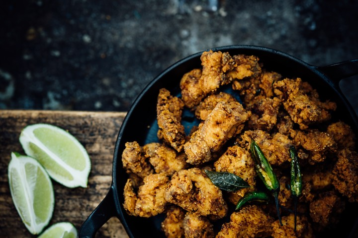 Curry Leaf Popcorn Chicken Recipe
