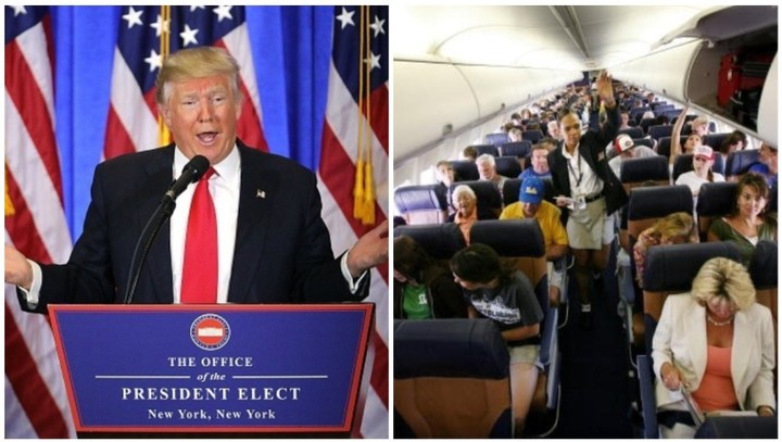 Man Accused of Groping Woman on Flight Said Trump 'Says It's OK'
