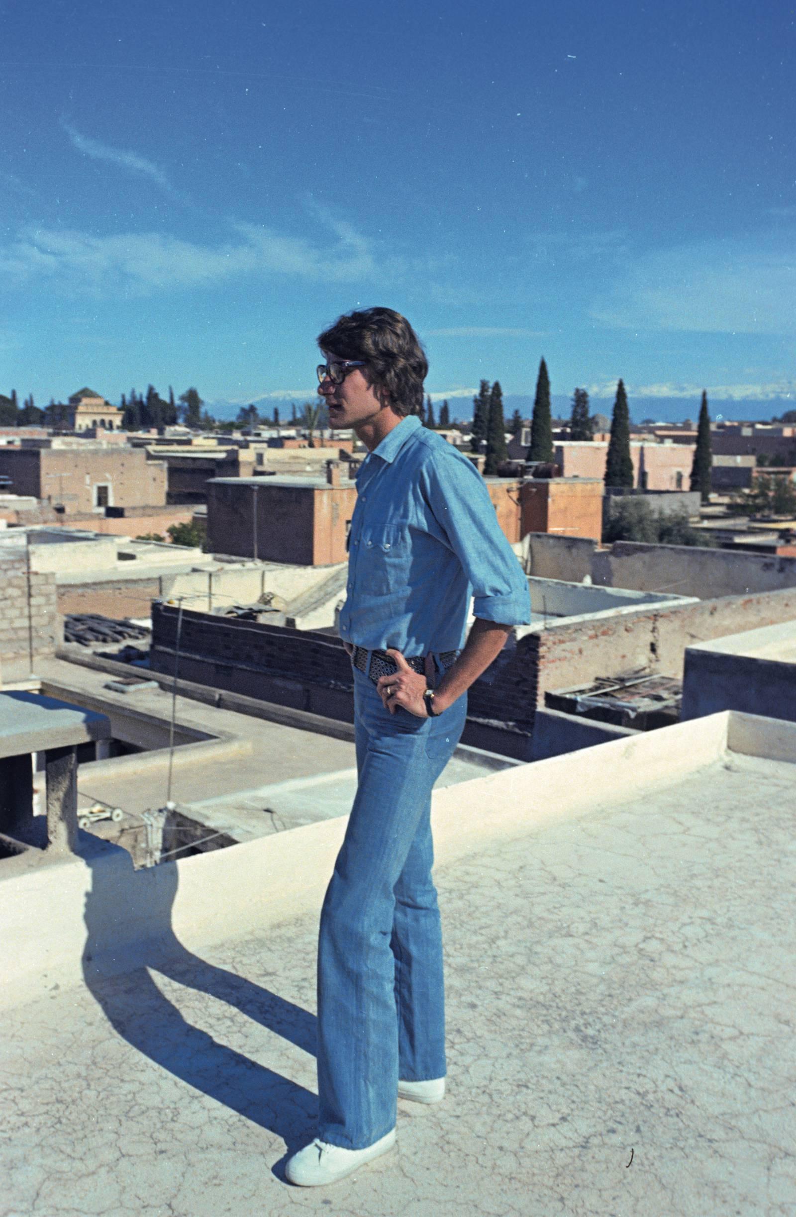 4a7b5310e56 Moroccan Love Affair | Exploring Yves Saint Laurent's Love Affair with  Morocco - Amuse