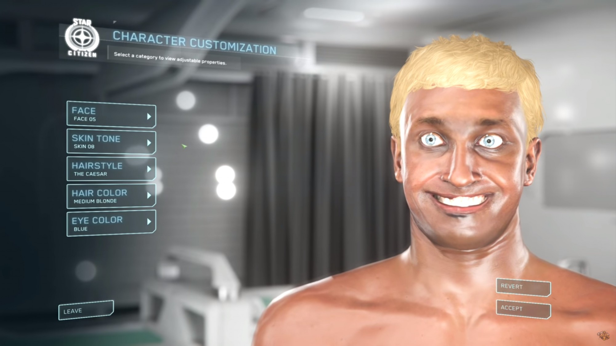Star Citizen' Says Its Advanced Face Tracking Tech Isn't