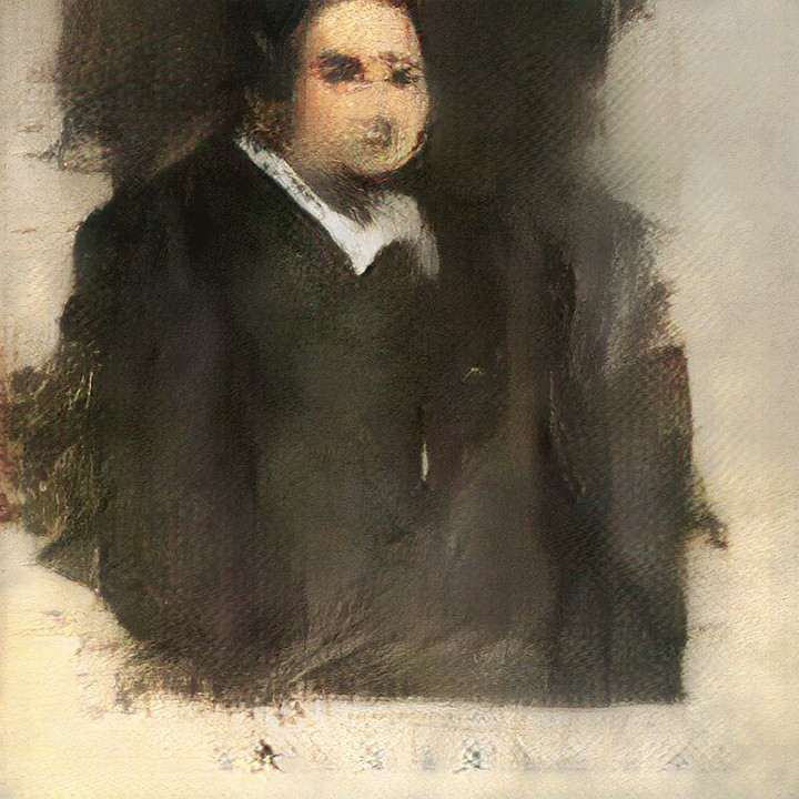 AI-Generated Artwork 'Edmond de Belamy' Sells for $432,500 at Christie's Auction - VICE