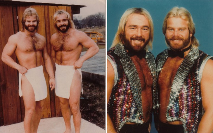 Are These Sexy Photos of 80s Wrestlers or Male Models?