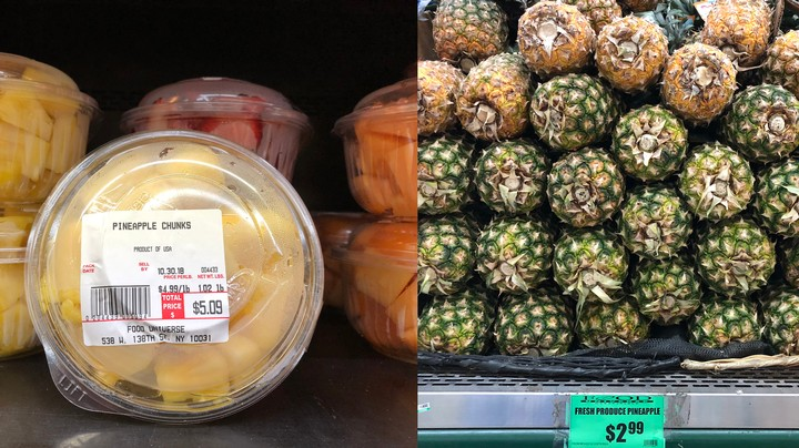 Don't Buy Chopped Fruits and Vegetables From the Grocery Store - VICE