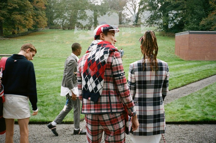 Thom Browne Just Invented the 'Downtown Golf Creative' Look