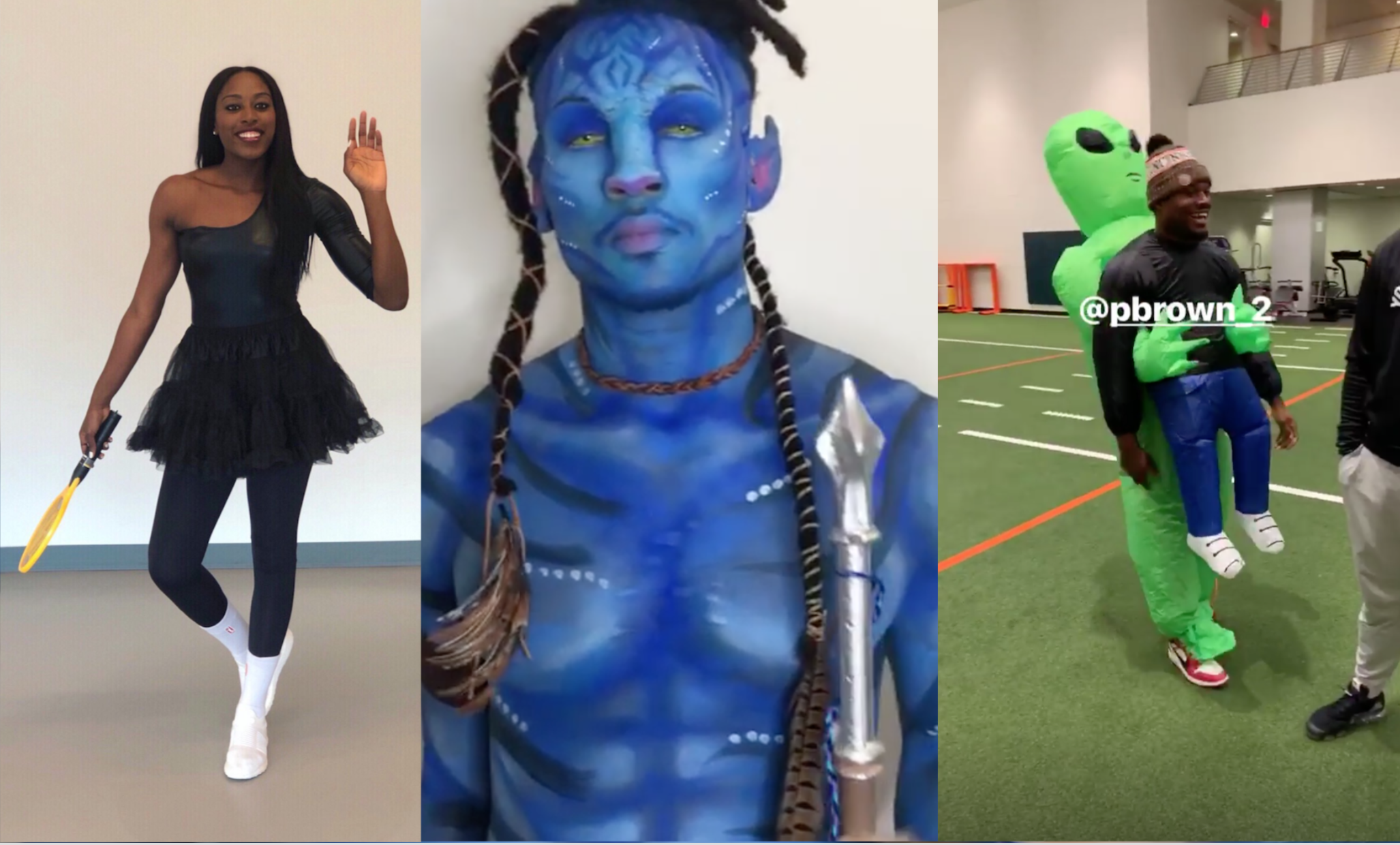 the best of athlete halloween costumes - vice sports