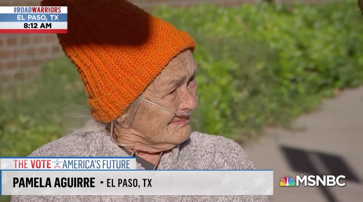 This 77-Year-Old Texan Explaining Why She's Voting for Beto Is Pure as Hell