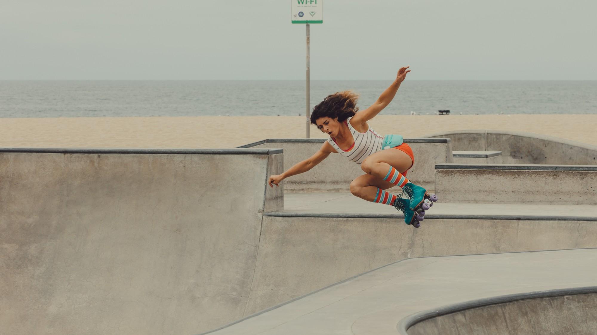 I Cruised LA with the Badass Moxi Roller Skating Girl Gang