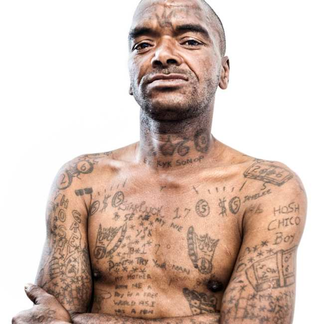 6df4145ca88e9 Portraits of South Africa's Bloodiest Prison Gang: The Number - VICE