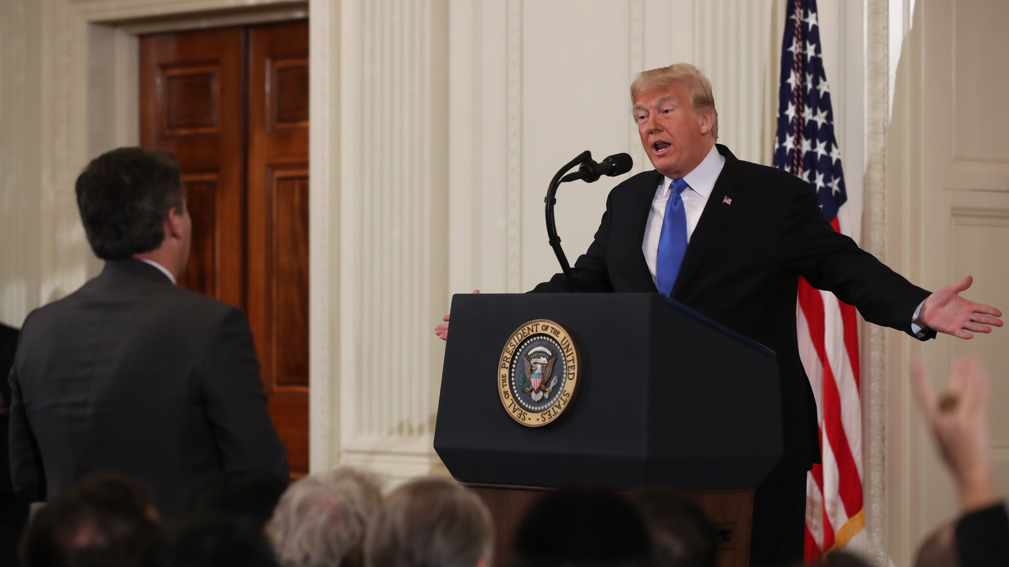 b4629c122f CNN sues Trump for barring Jim Acosta from the White House – VICE News