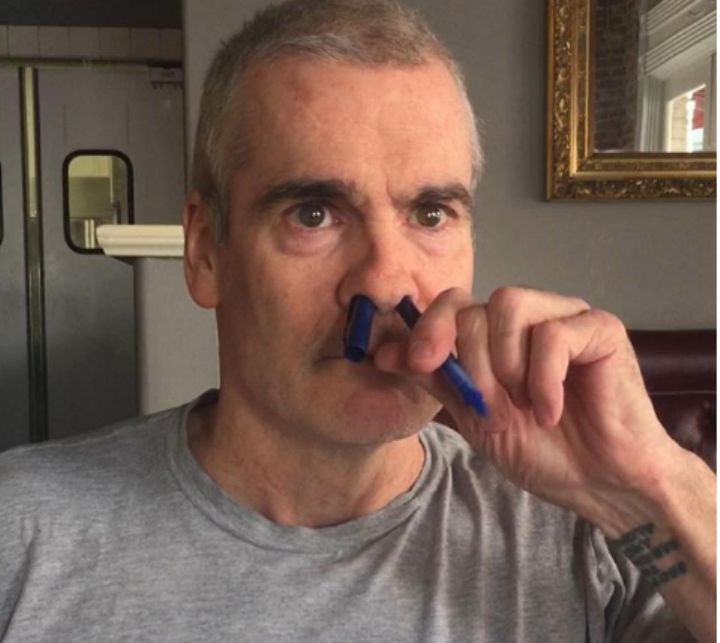 You're All Following Henry Rollins' Manager's Instagram Account, Right?