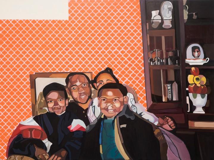 joy labinjo: the fine artist depicting intimate scenes of family life