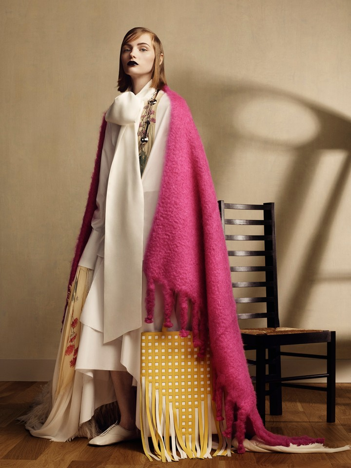Loewe Releases a Collection Inspired Charles Rennie Mackintosh
