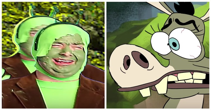 More Than 200 Artists Remade 'Shrek' Scene-by-Scene and Boy It Looks Weird
