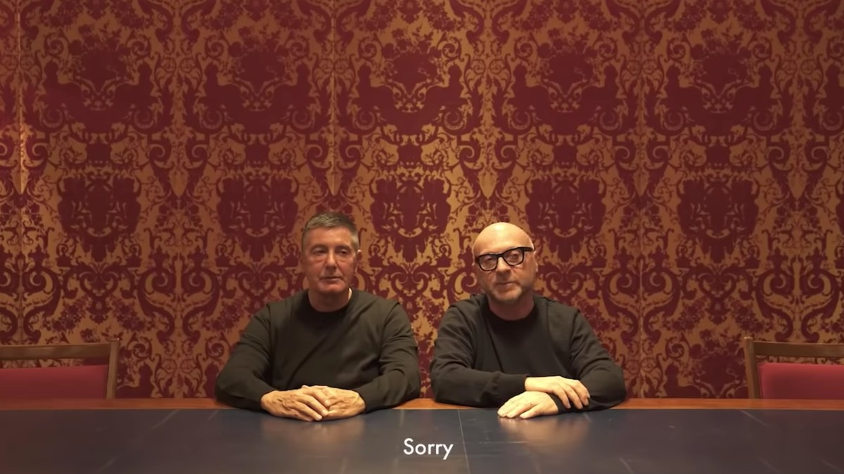 dolce and gabbana issue an apology to china