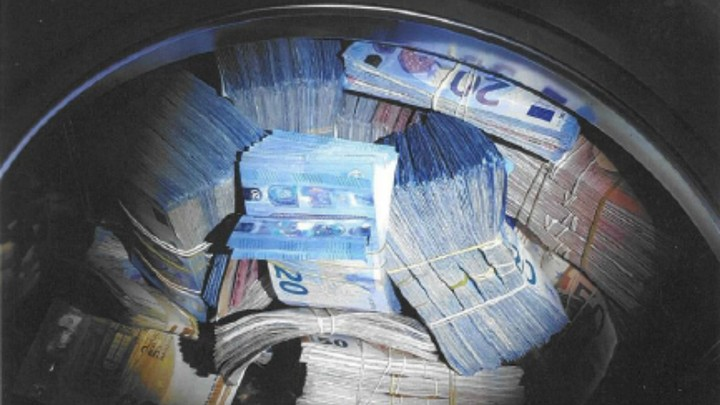 Man Arrested For Laundering Money After Literally Laundering Money