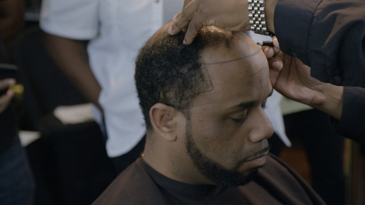 """This barber\'s """"magic"""" man weaves are curing baldness for ..."""