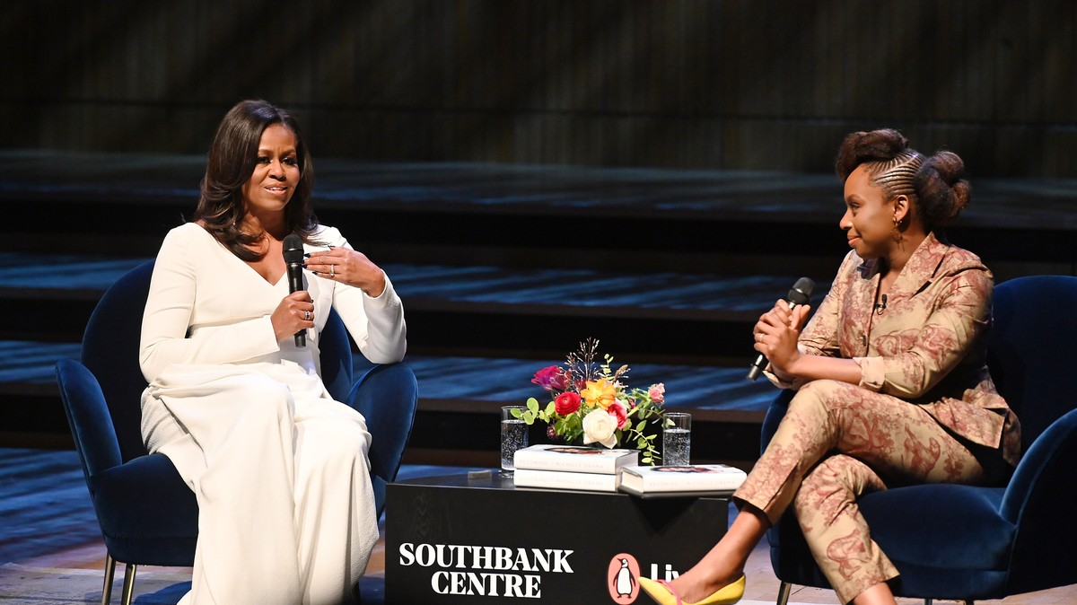 the magic of michelle obama in conversation with chimamanda ngozi adichie