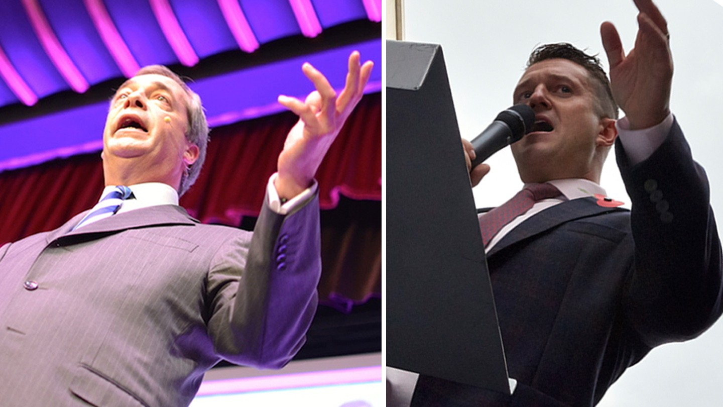 What Now for 'Tommy Robinson', Nigel Farage and UKIP?