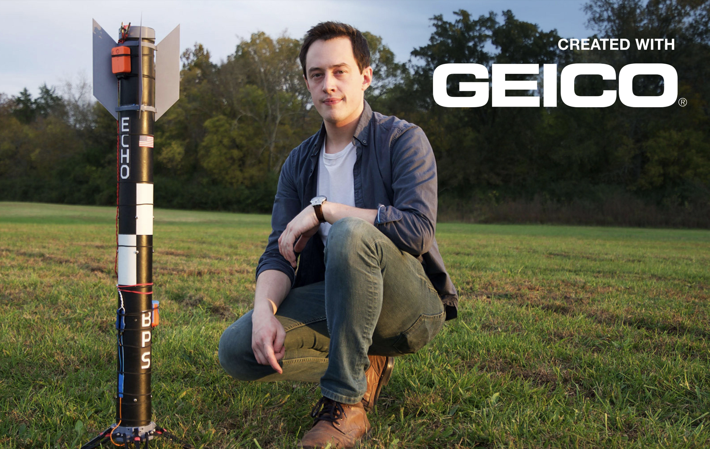 Watch a DIY Rocketeer Attempt to Land His Model Rocket Like SpaceX
