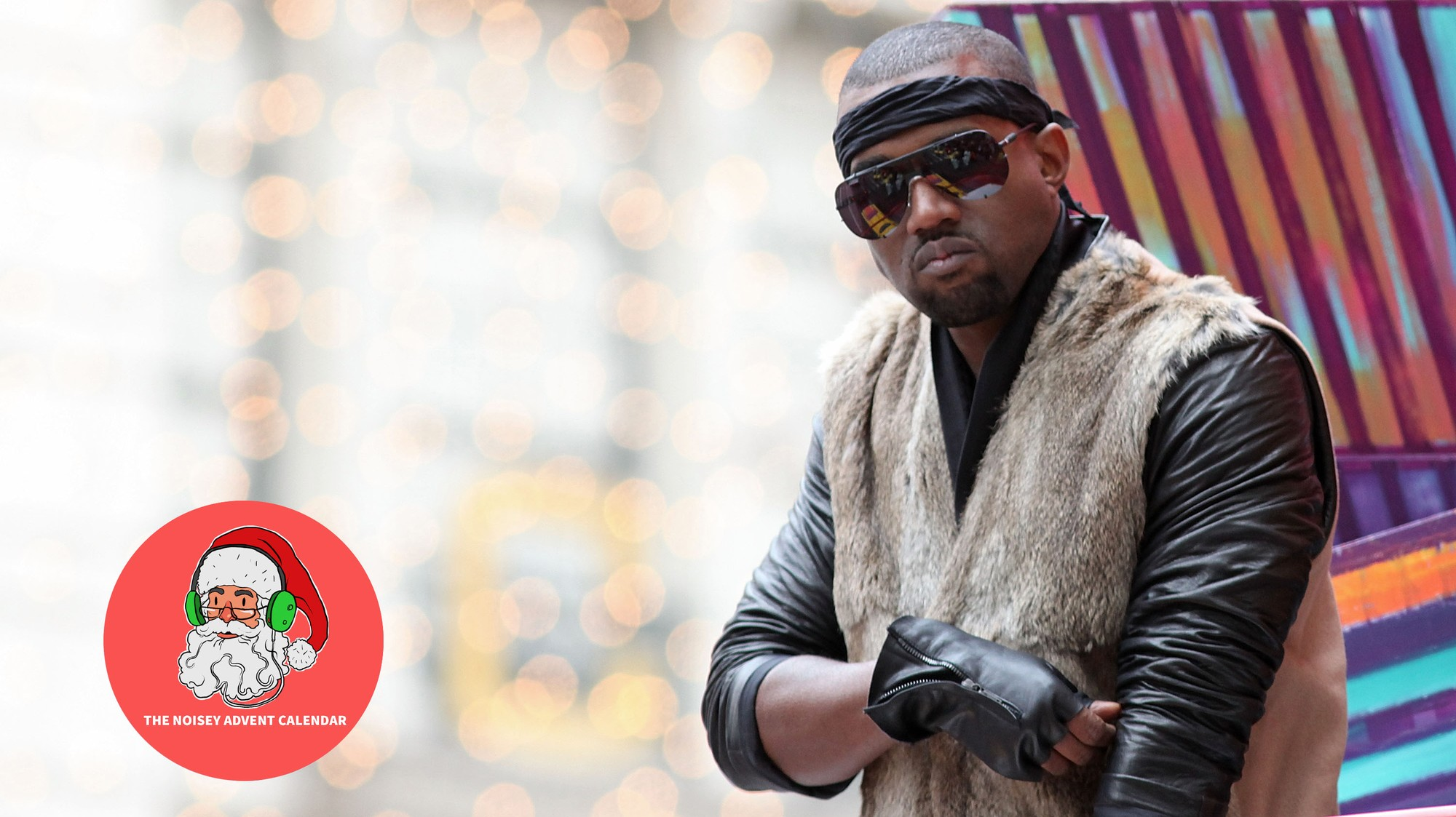 Kanye West Christmas In Harlem.Kanye West S Christmas In Harlem Squashed Some Beef And Became A