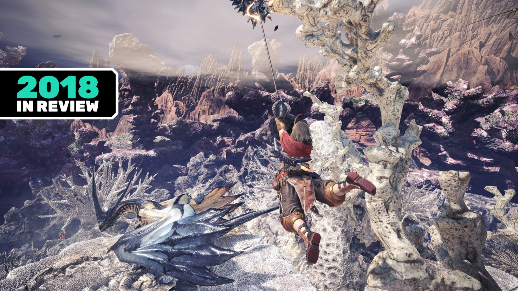Our Favorite Games of 2018: 'Monster Hunter: World' - VICE