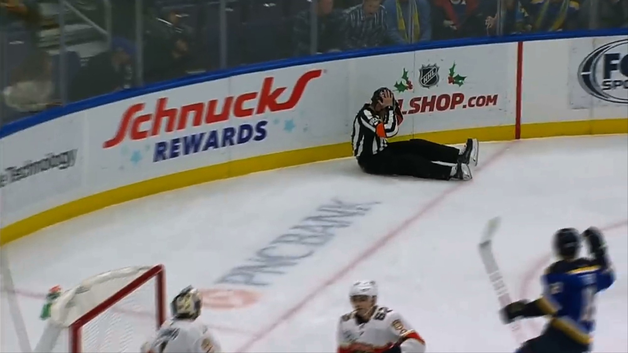For One Glorious Moment The Nhl Had A Ref S Dick Goal Vice