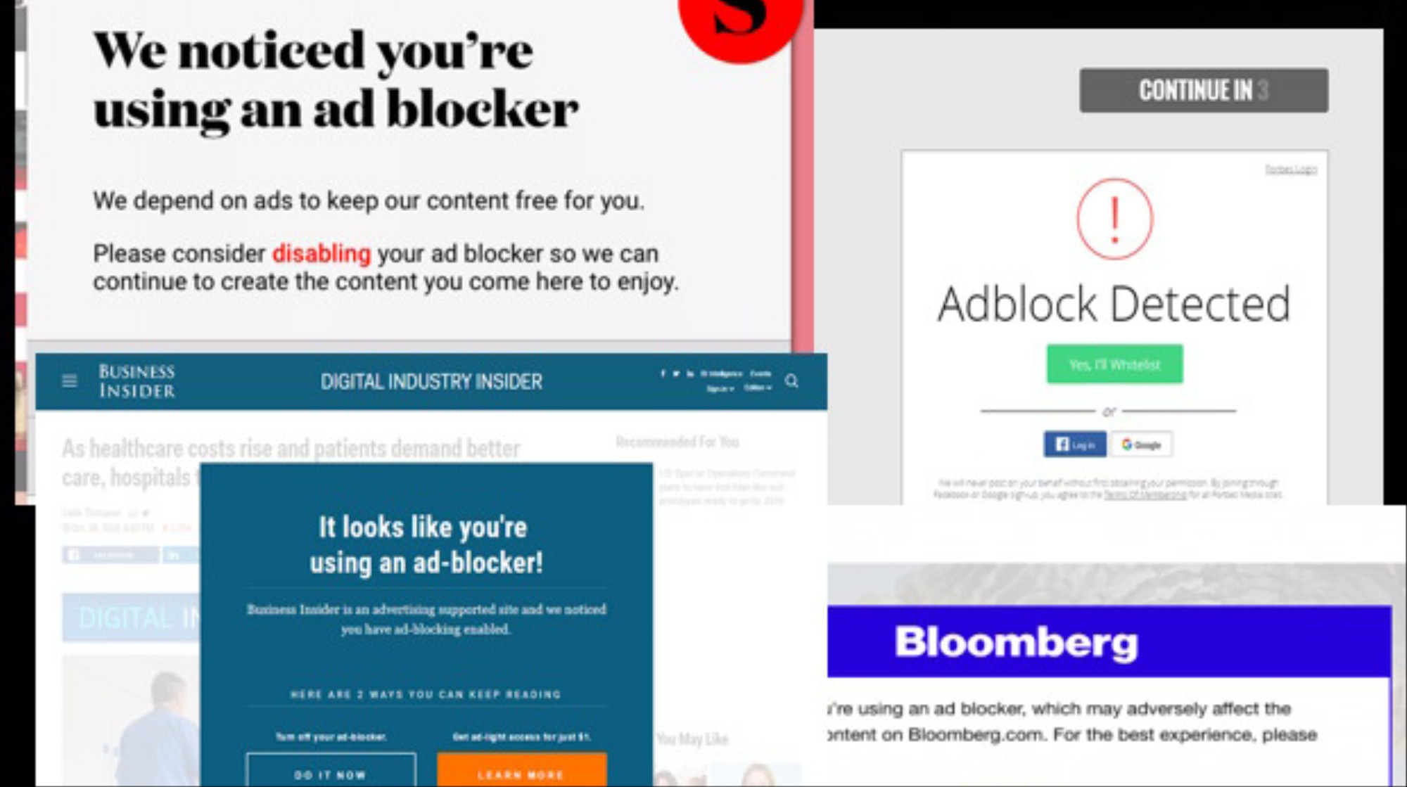 Why Doesn't My Ad Blocker Block 'Please Turn Off Your Ad Blocker