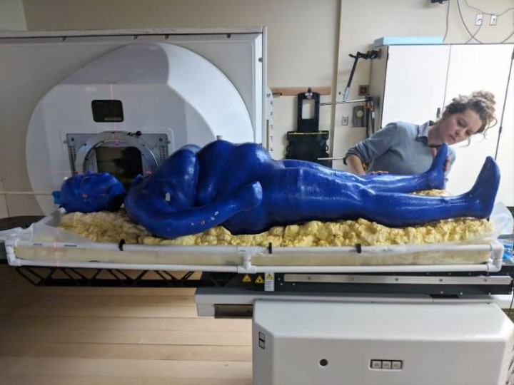 'Marie' Is the First Life-Sized, 3D-Printed Human Body