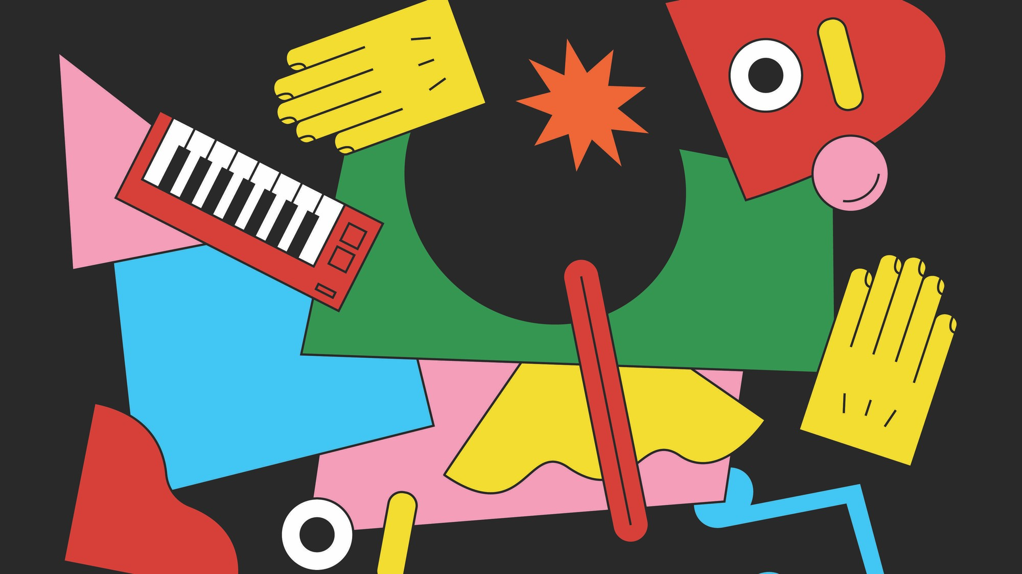 Kết quả hình ảnh cho ambient music illustration