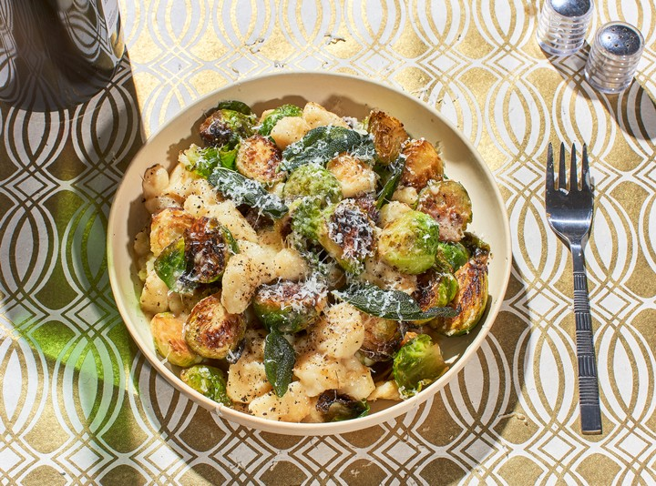 Brussels Sprouts and Chestnut Gnocchi Recipe