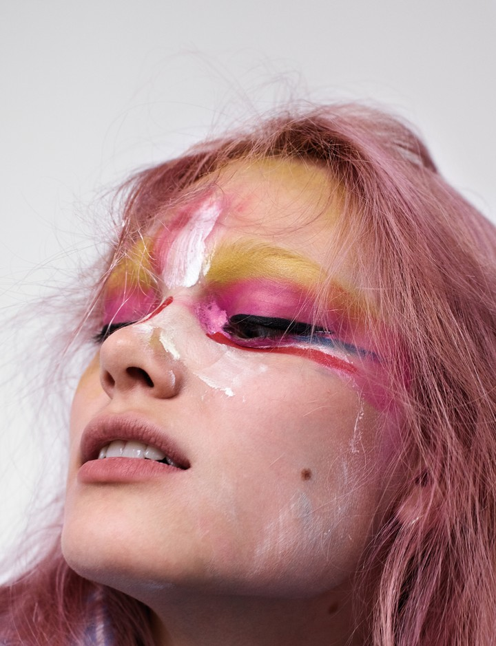 Simona Kust: The Russian, pink-haired Saint Laurent exclusive - i-D