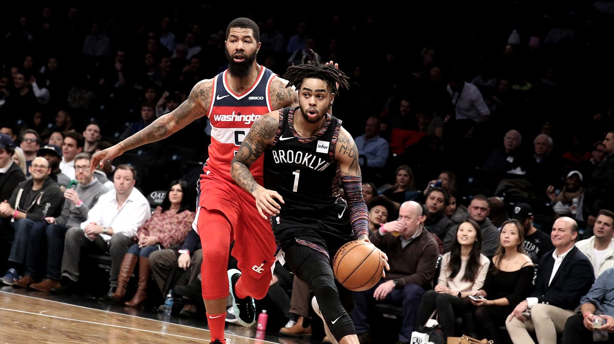 Brooklyn Nets D Angelo Russell Free Agency - VICE Sports 5ef47d098a5d