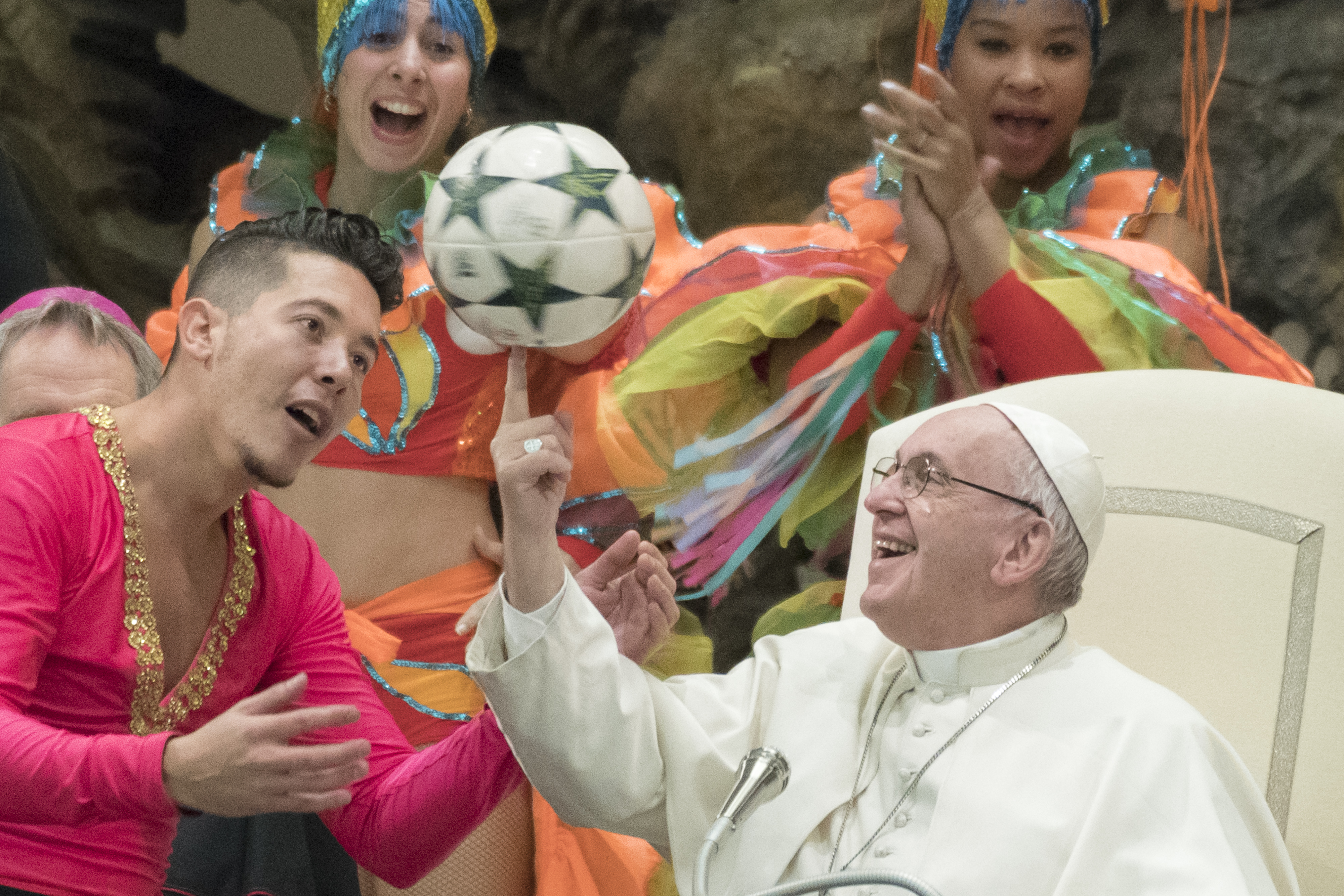 The Pope Soccer Ball Meme Is The Perfect Metaphor For A Broken