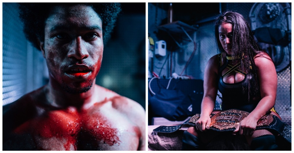 Photos from Inside a Bloody, Sweaty, Glorious Indie Wrestling School