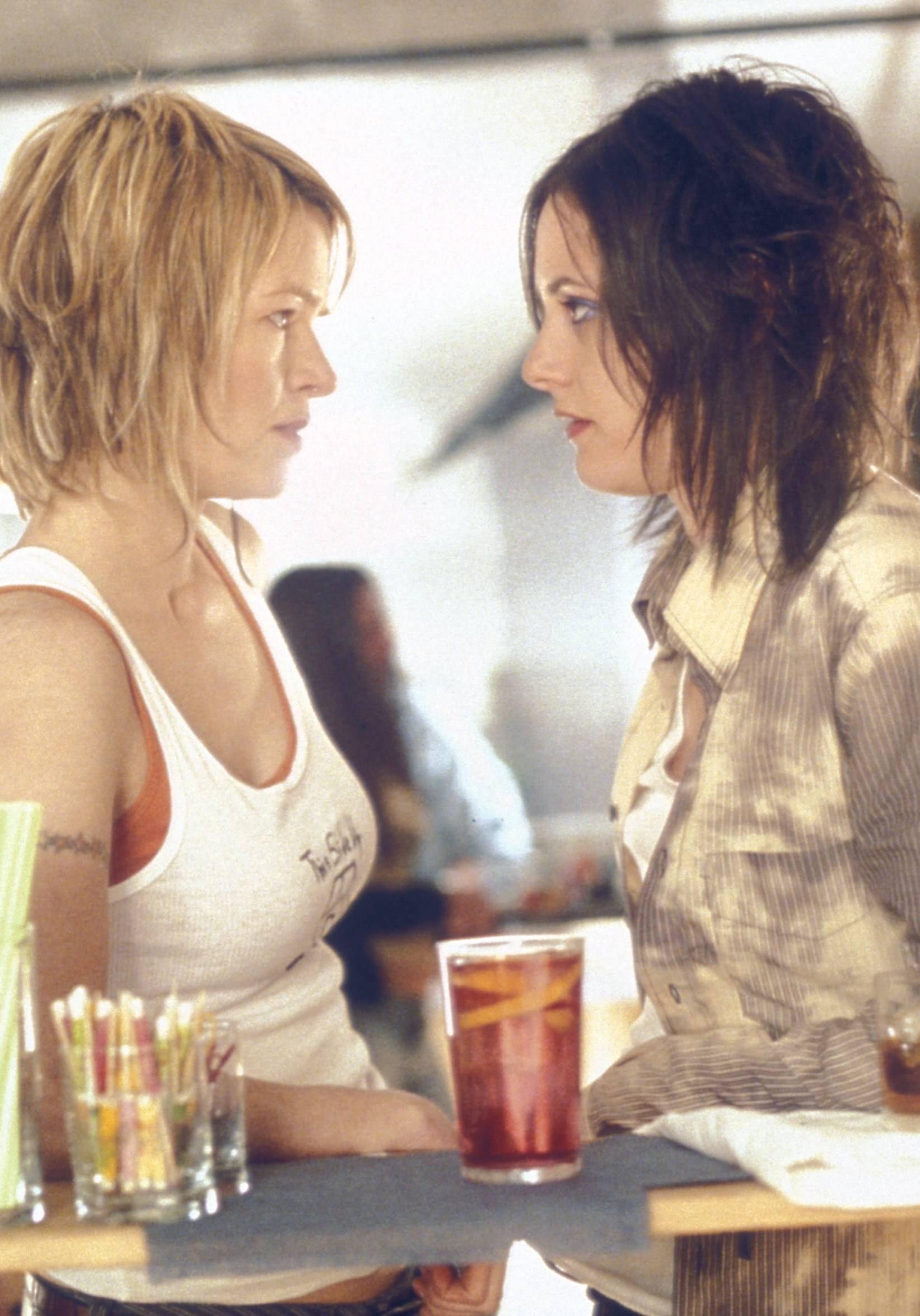Hetero Frauen Erste Lesbisch